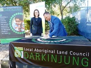 Landmark agreement signed