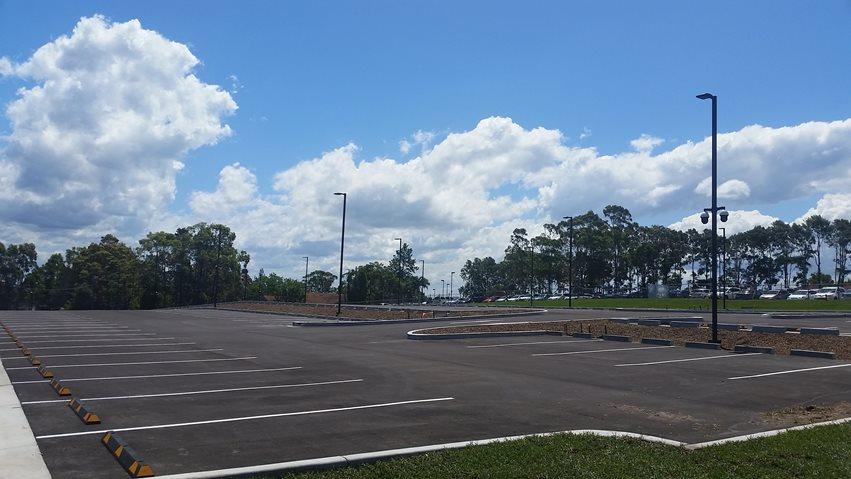 Car park opens